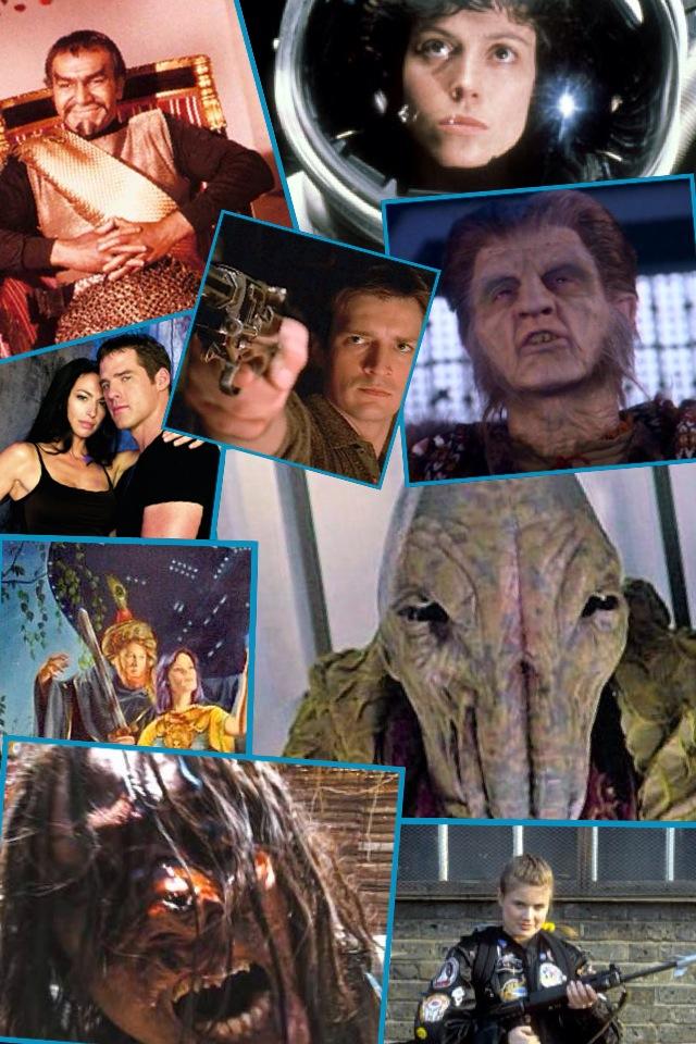 Sci-Fi Collage 4